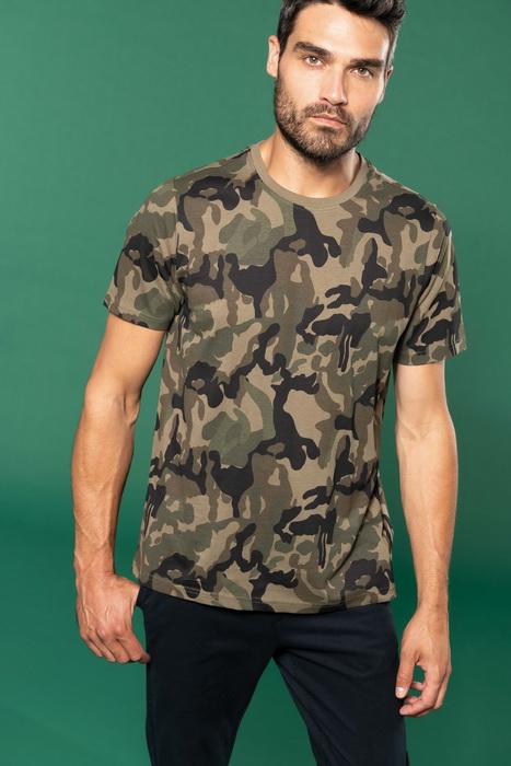Pánské trièko Camo camouflage