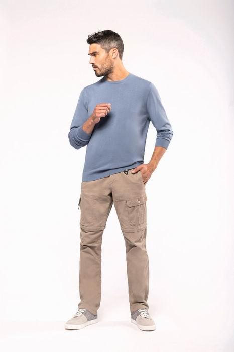 Pánské kalhoty s odepínacími nohavicemi