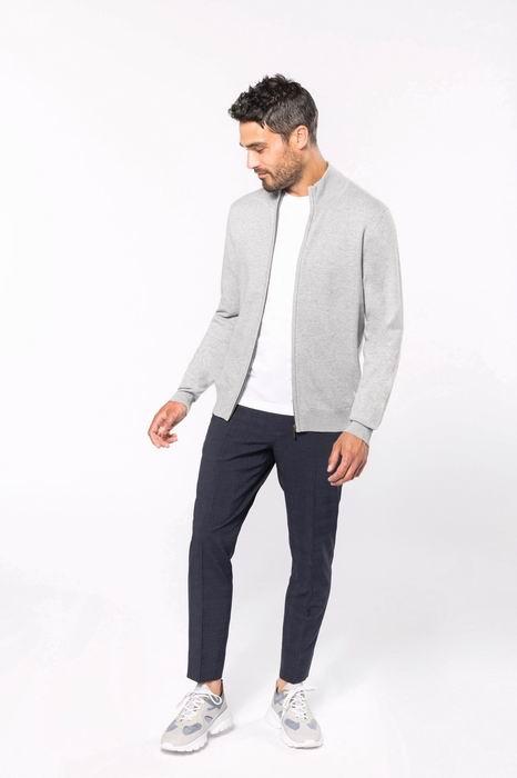 Pánský svetr na zip Premium cardigan