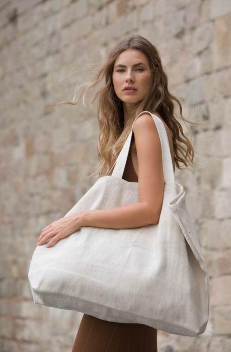 Velká rustikální nákupní taška