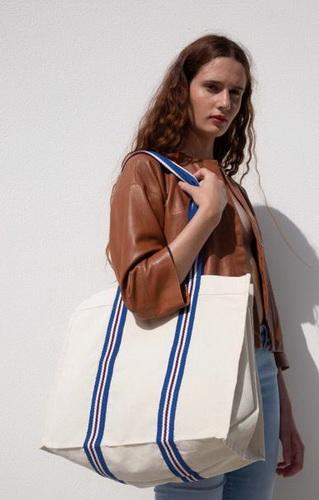 Módní nákupní taška z organické bavlny
