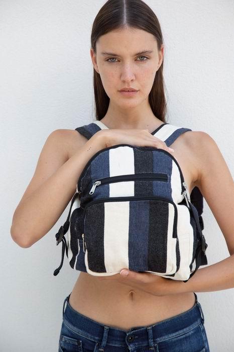 Recyklovaný batoh - Pruhovaný vzor