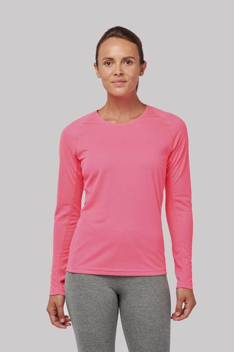 Dámské sportovní trièko dlouhý rukáv
