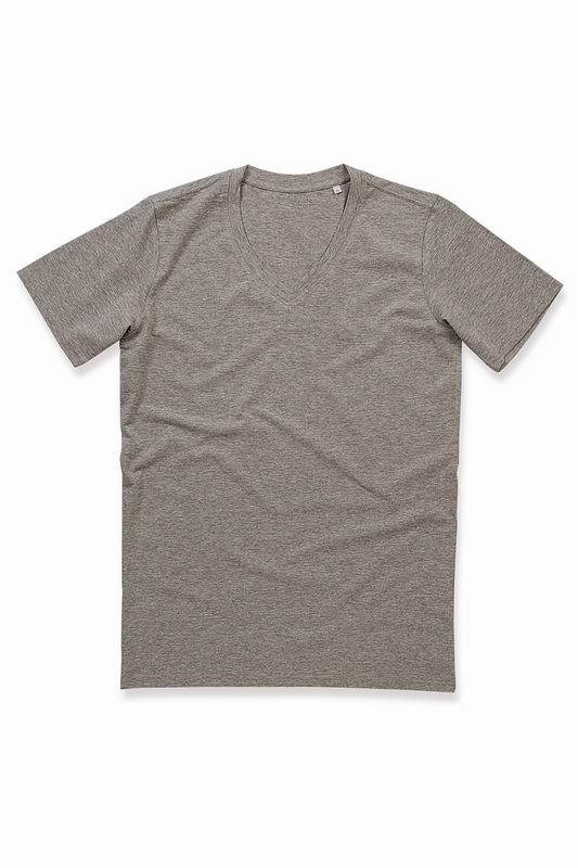 Pánské streèové trièko Dean V-neck - Výprodej