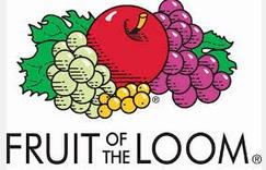 Vzorková sada Fruit Of The Loom Mini - 6 ks